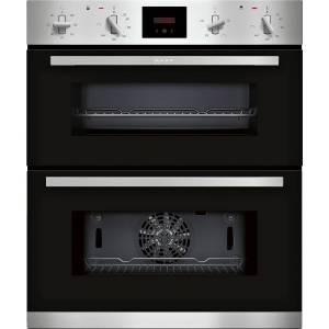 NEFF J1GCC0AN0B N30 6 Function Built Under Double Oven With LCD Display - Stainless Steel