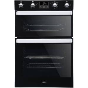 Belling BI902MFCT Built-in Multifunction Double Oven With Catalytic Liners - Black