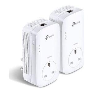 TP-Link AV1200 1.3Gbps Passthrough Powerline Starter Kit - 2 Pack