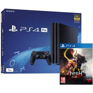 Sony PlayStation 4 Pro Black 1TB and Dual Shock 4 Controller with FREE Death Stranding Game