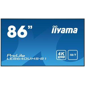 IIYAMA ProLite LE8640UHS-B1 86 4K Ultra HD Large Format Display