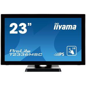 "IIYAMA 23"" ProLite T2336MSC-B2 Full HD Touchscreen Monitor"