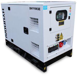 Hyundai Hyundai DHY11KSE 11kVA 3 Phase Diesel Generator 230V & 400V