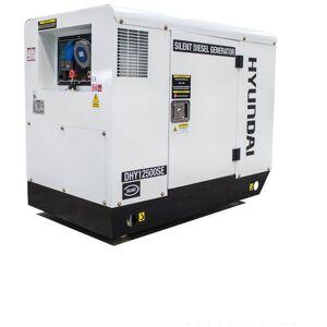 Hyundai Hyundai DHY12500SE 12.5kVA Diesel Standby Generator 230V