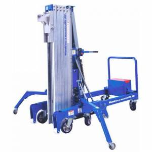 Wienold Wienold GML800 +20KM 800kg Glass and Material Lift with Counterweights