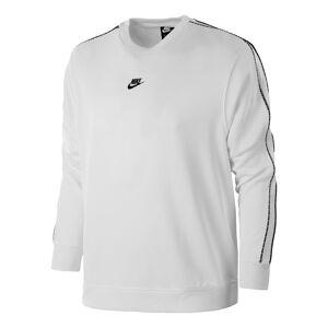 Nike Sportswear Repeat Crew Sweatshirt Men  - white - Size: Small