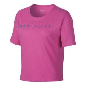 Nike Miler Surf T-Shirt Women  - pink - Size: Large