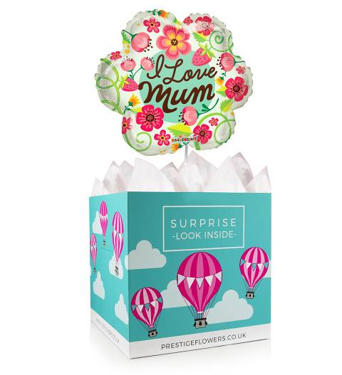 Mother's Day Balloon Box - Balloon in a Box Gifts - Mother's Day Balloons - Mother's Day Balloon Gifts - Balloon Gift Delivery - Mother's Day Gifts