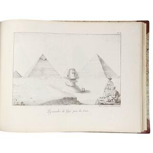Recueil des Cartes et des Vues du Voyage en Amerique en Italie en Sicile et en Egypte fait pendant les annees 1816, 1817, 1818 et 1819 MONTULE, Edoua