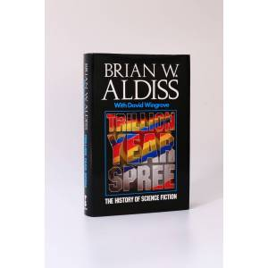 Trillion Year Spree: The History of Science Fiction [Inscribed Association Copy] Brian Aldiss [with David Wingrove] [Near Fine] [Hardcover]