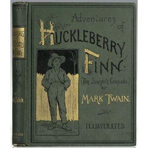 The Adventures of Huckleberry Finn Twain, Mark (Samuel Clemens) [Fine] [Hardcover]