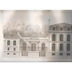 L architecture privée au XIX ME siècle sous Napoléon III. Nouvelles maisons de Paris et des environs. (2 volúmenes -en 3 tomos: Hotels Privés, Maison