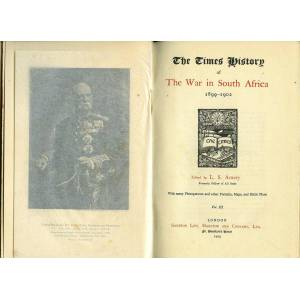 The Times History of the War in South Africa 1899-1902 Volume III (3 / Three) Only Amery, L. S. ( Leopold Stennett). General Editor [ ] [Hardcover]