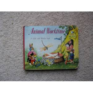 Animal Worktime. A Look with Mother book. Helen Haywood. [Very Good] [Hardcover]