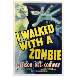 I WALKED WITH A ZOMBIE (1943) One sheet poster RKO [Very Good]