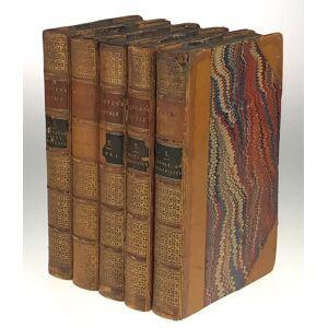 [Austen- Five Volumes, Six Novels. Bentley Editions- Association Copy, Owned by Jane Austen's Favorite Niece] Novels: Sense and Sensibility; Pride an