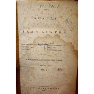 Novels Jane Austen 2 Volumes bound in one (as published) Pride & Prejudice Mansfield Park Persuasion Emma Sense Austen, Jane [Fair] [Hardcover]