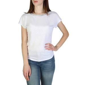Armani Exchange Short sleeved Open Back Top  - Size: Extra Small
