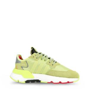Adidas Originals Nite Jogger Gender: Woman Type: Sneakers Upper: synthetic material fabric suede Internal lining: fabric Sole: rubber Heel height cm: 3.5 Platform height cm: 2 - Size: UK 5