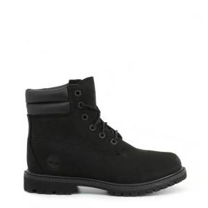 Timberland 6IN-DBL-COLLAR Gender: Woman Type: Ankle boots Upper: fabric leather Internal lining: fabric Sole: rubber Details: metal eyelets round toe - Size: UK 4