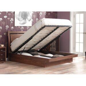 The Dreams Workshop Isabella Wooden K Ottoman Bed Frame 5'0 King BROWN