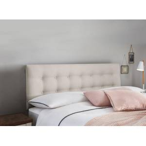 The Dreams Workshop Classic Fairfield Headboard - Silver