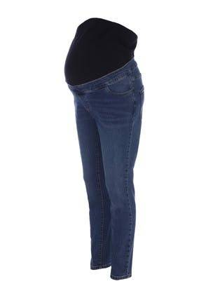 Peacocks Maternity Indigo Blue Over The Bump Skinny Jeans  - 20