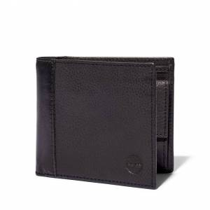 Timberland Ashfield Wallet With Coin Pocket For Men In Dark Grey Dark Grey, Size ONE