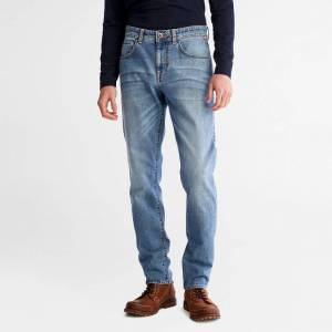 Timberland Sargent Lake Stretch Jeans For Men In Light Blue Light Blue, Size 42x32