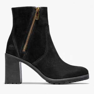 Timberland Allington Ankle Boot For Women In Black Black, Size 7