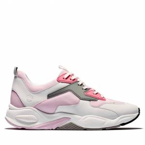 Timberland Delphiville Sneaker For Women In Pink Pink, Size 7