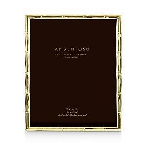 Argento Sc Bamboo Gold 8 x 10 Picture Frame  - Gold