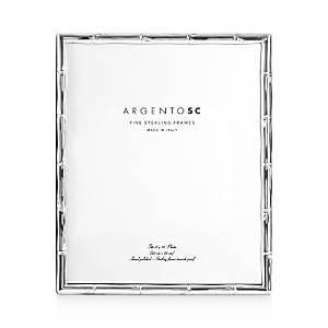 Argento Sc Bamboo Sterling Silver Frame, 8 x 10  - Silver