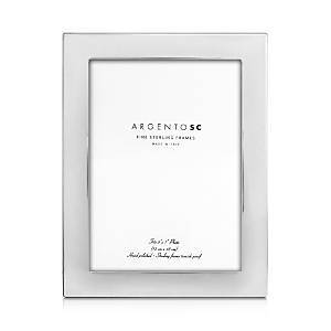 Argento Sc Castell Sterling Silver 5 x 7 Picture Frame  - Silver