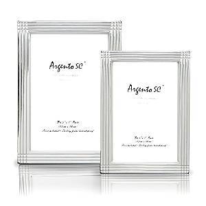 Argento Sc Argento Axis Sterling Silver Frame, 5 x 7  - Sterling Silver