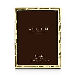 Argento Sc Bamboo Gold 4 x 6 Picture Frame  - Gold