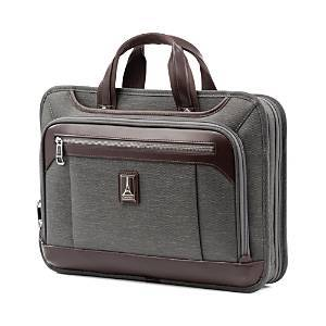 Travelpro Platinum Elite Expandable Business Briefcase  - Unisex - Vintage Grey