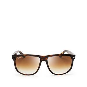Ray-Ban Unisex Flat-Top Boyfriend Sunglasses, 60mm  - Tortoise