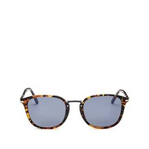 Persol Men's Sartoria Square Sunglasses, 53mm  - Male - Tortoise Brown
