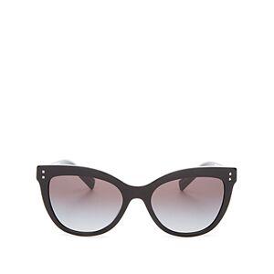 Valentino Women's Cat Eye Sunglasses, 54mm  - Female - Black/Black Gradient