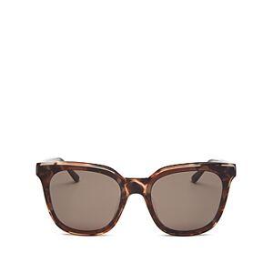 Illesteva Women's Camille Oversized Square Sunglasses, 67mm  - Female - Blush Tortoise/Gray