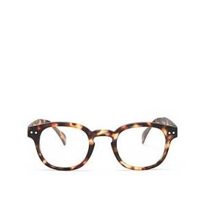 Izipizi Unisex Collection B Square Readers, 40mm  - Multi Tortoise - Size: 1.5