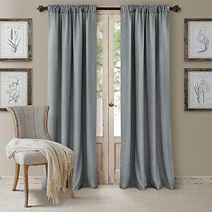 Elrene Home Fashions Cachet Blackout Curtain Panel, 52 x 84  - Blue