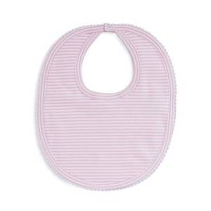 Kissy Kissy Girls' Striped Bib - Baby  - Pink - Size: One Size