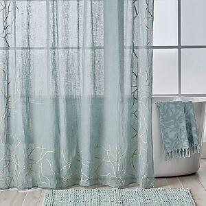 Michael Aram Ocean Reef Shower Curtain  - Seafoam