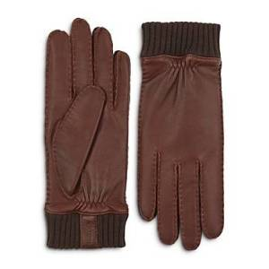 Hestra Vale Leather Gloves  - Male - Chestnut - Size: Small