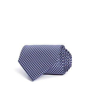Salvatore Ferragamo Perla Silk Classic Tie  - Marine