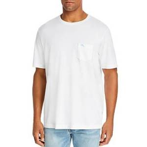 Tommy Bahama New Bali Skyline Tee  - Male - White - Size: Medium