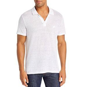 Vilebrequin Linen Jersey Polo Shirt  - Male - White - Size: Medium