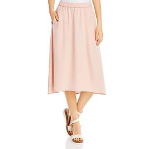 Eileen Fisher A-Line Skirt  - Female - Powder - Size: Large
